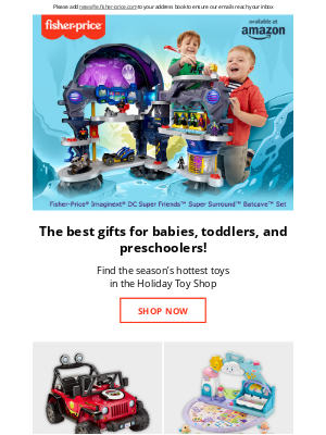 Fisher-Price - This season's hottest toys from Fisher-Price®
