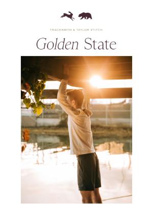 Tracksmith - Golden State Adventure