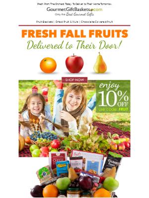 GourmetGiftBaskets - Orchard Fresh Fruit Baskets 🍎