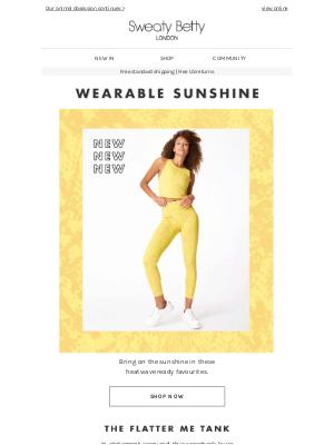Wearable sunshine