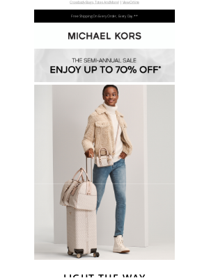 Michael Kors - Sign Here: The Latest In Signature Logo