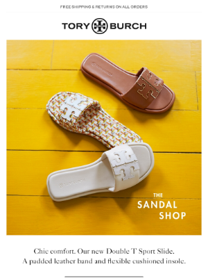 Tory Burch - New sandals are here