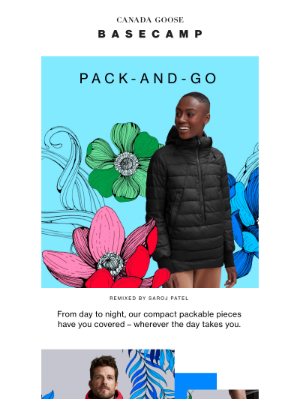 Pack-and-go summer layers