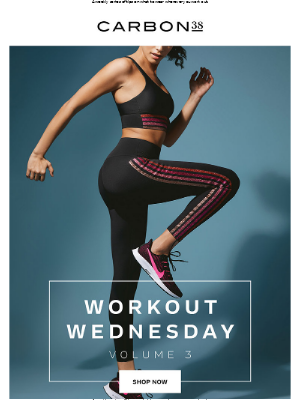 Workout Wednesday.