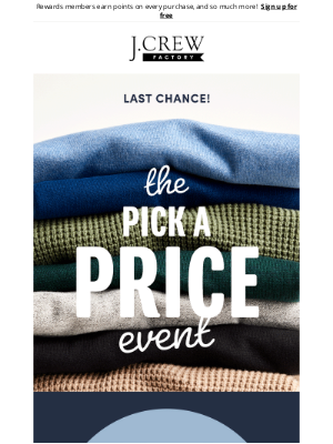 J.Crew Factory - Treat yourself before it's too late, fall styles under $25, $35 & $50 now 🍁
