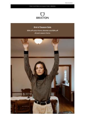 Brixton LLC - Best of Sale: Women's Apparel