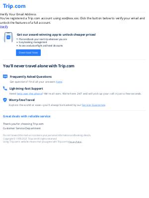 Trip Network - Verify Email