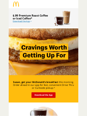 McDonald's - Mornings are better with a McDonald's breakfast