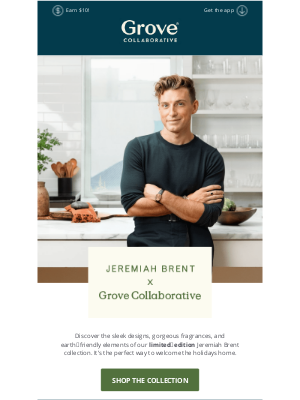 Grove Collaborative - It's Here: Jeremiah Brent x Grove Collaborative