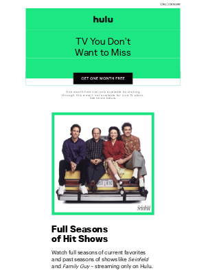 Try FREE: All Your TV In One Place