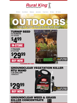 Rural King Supply - Your Outdoor Headquarters!