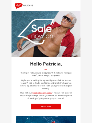 Virgin Holidays (UK) - The Virgin Holidays sale is now on