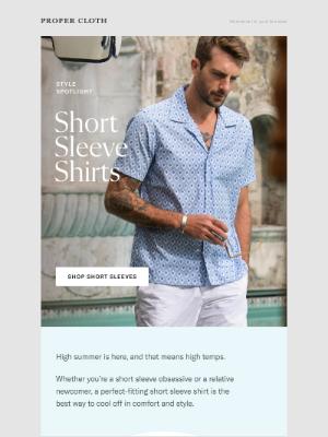 Proper Cloth - The Signature Shirt of Summer