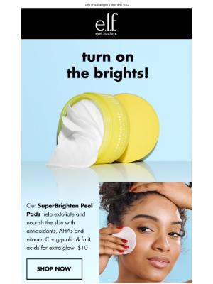 e.l.f. Cosmetics - Your skin just got a little brighter✨