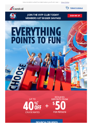 Carnival Cruise Line - Fun is waiting 😎 Book your cruise today🛳️