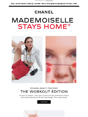 Work out with Mademoiselle