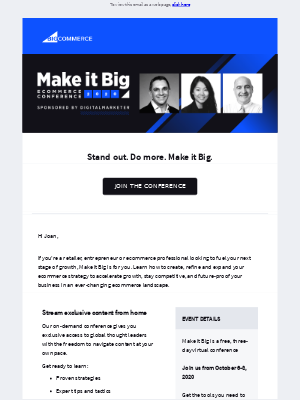 BigCommerce - Are you ready to Make it Big?