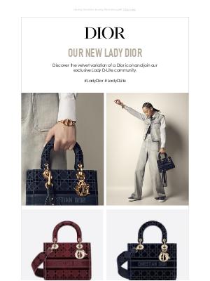 Dior - A velvet variation of a Dior icon