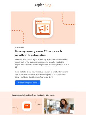 Zapier - How an agency saves 32 hours a month with automation