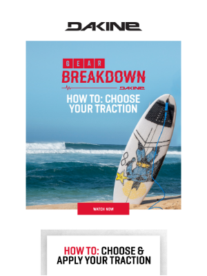 Dakine Inc - How To: Choose Your Traction
