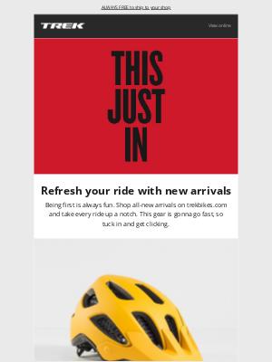 Trek Bicycle - Fresh release: New ride essentials