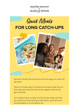 Marley Spoon - Gourmet meals at your doorstep