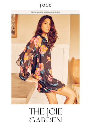 Joie - New Floral Dresses + Save on Jewelry