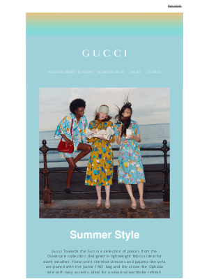 Gucci (UK) - Summer Style: Straw Bags and Floral Prints