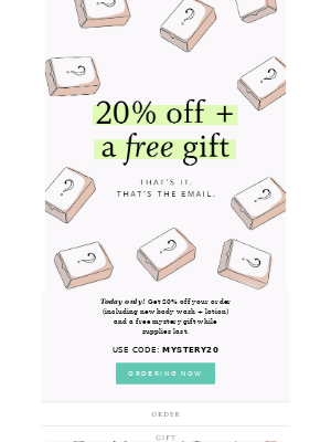 2 TREATS FOR YOU – TODAY ONLY