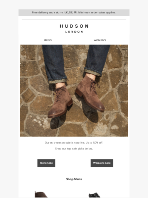 Hudson Shoes - Our top sale picks | Treat yourself