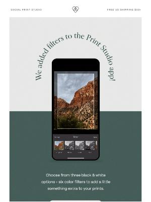 Social Print Studio - A fun addition to the app