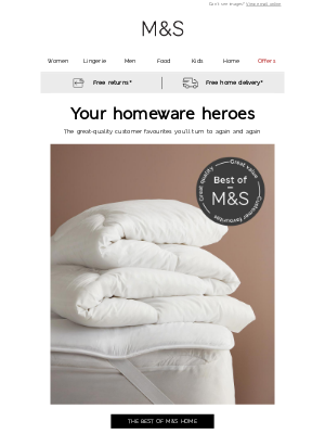 Marks and Spencer (UK) - Best of M&S Home ❤️