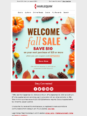 Harlequin - You're going to fall for this sale! 😍