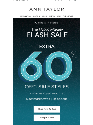 48 Hours Only! Extra 60% Off Sale