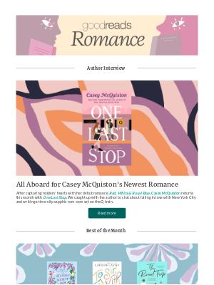 Goodreads - New Romances to Heat Up June