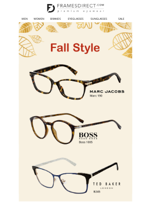 FramesDirect - Fall Eyewear Picked for You
