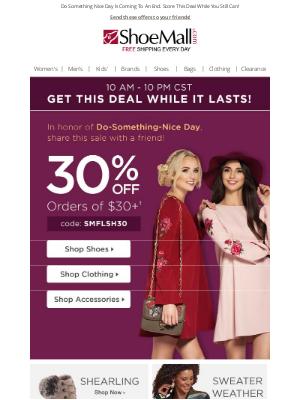 ShoeMall - Ending Soon: 30% Off