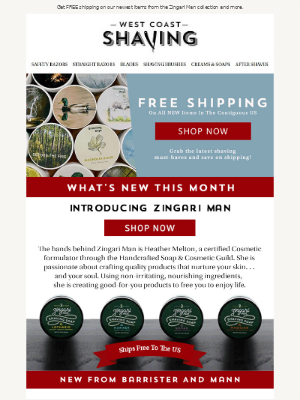What's NEW this month? 📦 Find out and get FREE shipping!