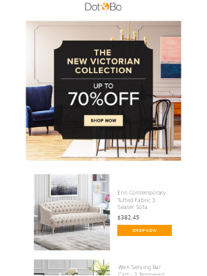 Dot & Bo - Save Up To 70% Off Modern Victorian Stylings