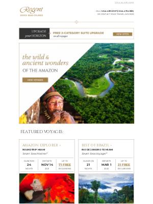 Oceania Cruises - Call on the Breathtaking Beauty of The Amazon