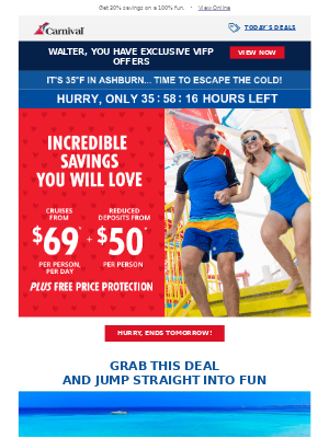 Savings you'll ❤️