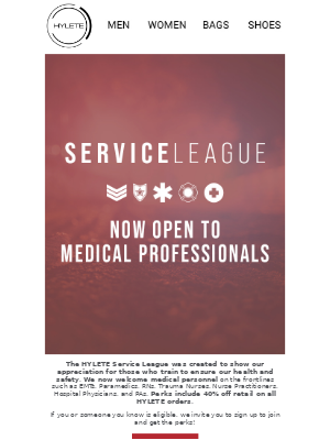 Medical Professionals Now Eligible For Perks