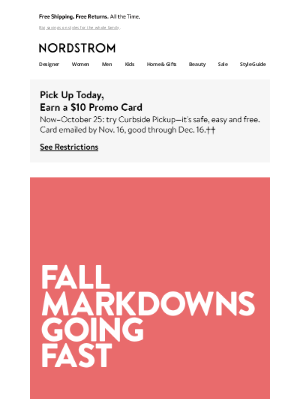 Nordstrom - Markdown alert: tons of styles on sale