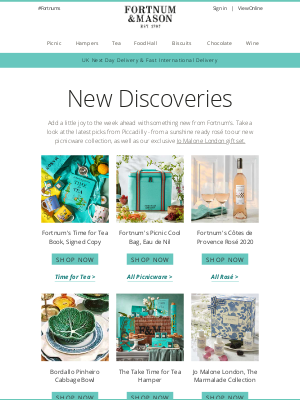 Fortnum & Mason - See What's New at Fortnum's!
