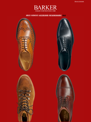 Barker Shoes (UK) - Sale: Shop By Style | Further Additions | Up To 50% Off Selected Styles | Clearpay: Pay In Four