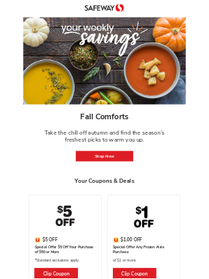 Safeway - Your Weekly Savings