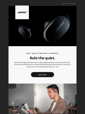 Bose - Learn more about small earbuds with big sound