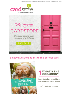 Cardstore - Welcome to Cardstore.com