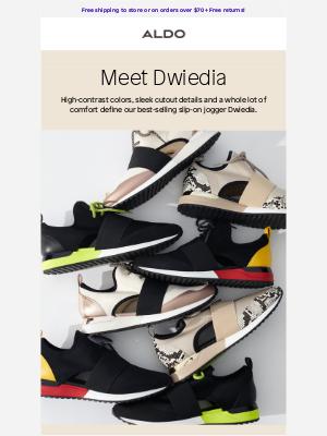 ALDO - Meet our best-selling sneaker ⭐