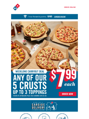 Domino's Pizza - End your week with 🍕